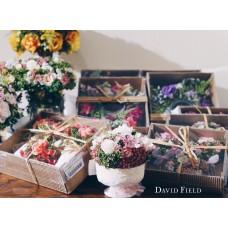 法式鄉村玫瑰花組