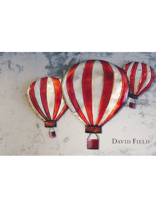 熱氣球壁飾