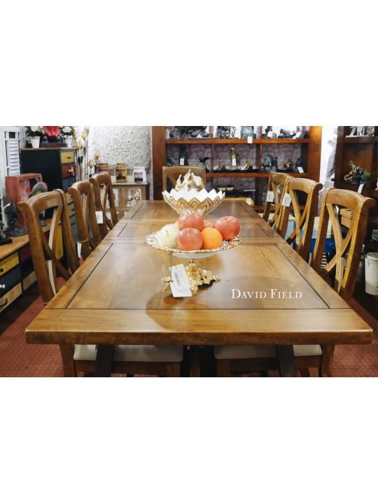 大原木長餐桌