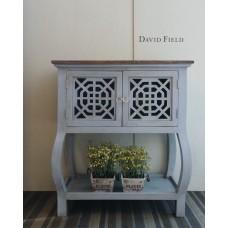 淺藍原木櫃