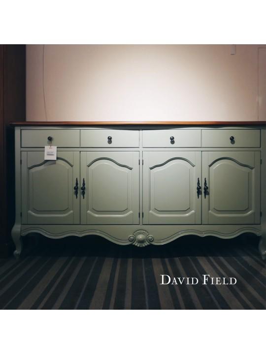 淺藍原木餐櫃